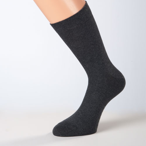 business-socken damensocken herrensocken dunkelgrau baumwollsocken